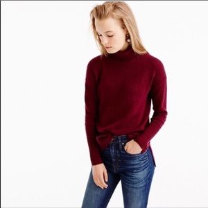 J Crew Merino Wool Turtleneck